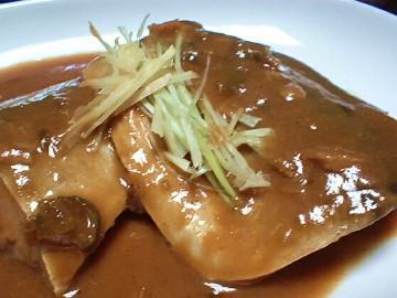 雄鯖/サバの唐辛子味噌煮